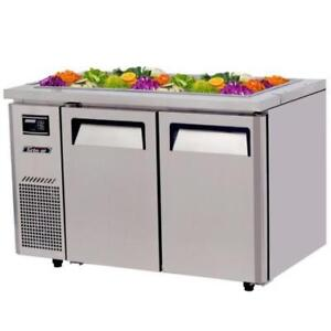 47 1/4 Refrigerated Buffet Display Table - 11 Cu. Ft.*RESTAURANT EQUIPMENT PARTS SMALLWARES HOODS AND MORE*