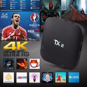 Free Delivery & SetUp - TX2 TV Box Android 5.1 64Bit Quad-core