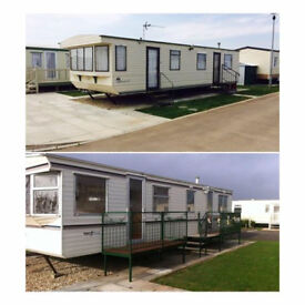 Caravan Hire ( X2) (6 Berth) Chapel St.Lenords,Lincolnshire