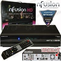 Nfusion HD - FTA/IKS sattelite receiver Brand NEW in the box