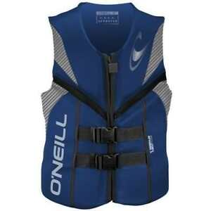 O'Neill Reactor Life Jacket (Blue) - Men's