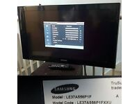SAMSUNG LE37A556P1F 37 INCH FULL HD LCD TV (WALL MOUNTABLE/NO STAND)