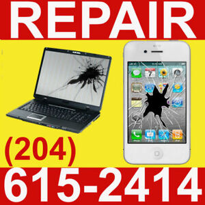 WINNIPEG CELL PHONE & COMPUTER REPAIR/UNLOCK:IPHONE/SAMSUNG/IPAD