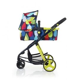 Cosatto pitter patter pram /pushchair / car seat / chassis /isofix base / bag / accessories