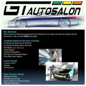 AUTO BODY REPAIR, SCRATCHES, DENTS, BUMPERS, ETC. FREE ESTIMATES