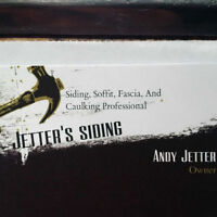 JETTERS SIDING