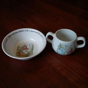Wedgwood Peter Rabbit Bowl and Cup