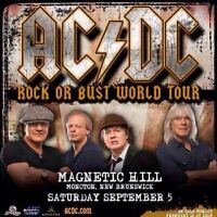 AC/DC Concert Parking Most Popular Parking