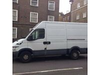 Man And Van For Hire 37.50 P/H