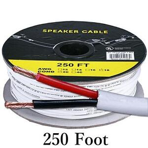 250FT 14AWG In Wall Speaker Cables