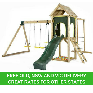 Plum Kudu Wooden Play Centre Free Delivery QLD, NSW & VIC Sydney City Inner Sydney Preview