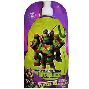 New Teenage Mutant Ninja Turtles Collapsible Water Bottle 380ml