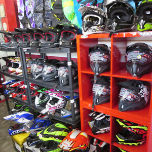 Bell CKX LS2 MX Dirt Bike Motocross Helmets Re-Gear Oshawa