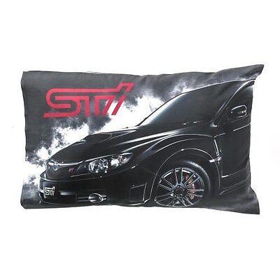 Genuine Subaru STI Pillow Case Impreza WRX Racing Official JDM Rally Gear new