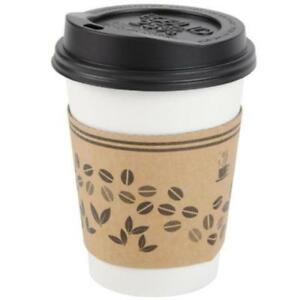 Coffee Cup Sleeve/Jacket /Clutch for 10-20 oz. Cups-1200/CASE *RESTAURANT EQUIPMENT PARTS SMALLWARES HOODS AND MORE*