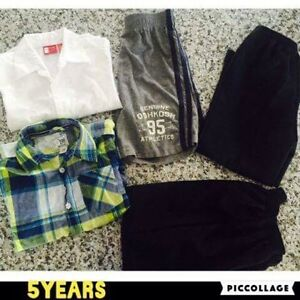 Clothes goos condition  5 years