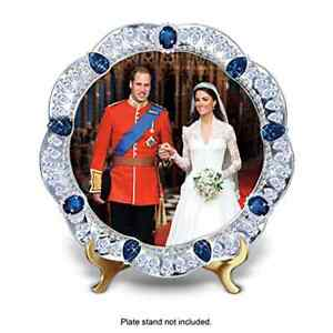 Prince William And Kate Royal Wedding Collector Plate