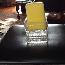 Thames square glass candle holder Nedlands Nedlands Area Preview