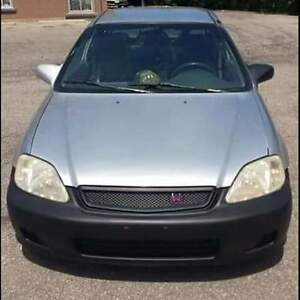 1999 Honda Civic cx Hatchback Kitchener / Waterloo Kitchener Area image 1