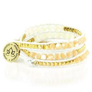 50% OFF All Jewellery - Athena Stone Lotus WrapBracelet
