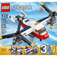 LEGO Twinblade Adventues 3 in 1 - NEW and UNOPENED