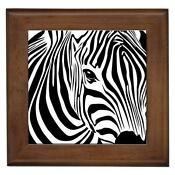 Zebra Print Wall Decor