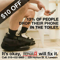 Cell Phone Repair: iPhone, iPod, iPad, HTC, Samsung ($10 OFF)
