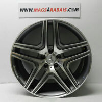 "MAG REPLIQUE MERCEDEZ ML 22""5X112 GUNMETAL/MACHINER"