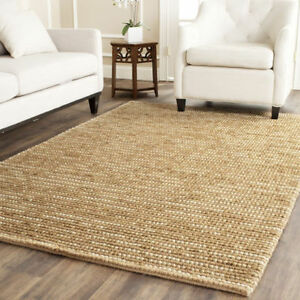NEW Safavieh Hand-woven Bohemian Wool & Jute Rug 5x8' PAID $600