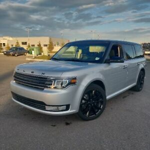 2019 Ford Flex Limited 3.5L V6 Leather/Sunroof/7 seats/AWD/MINT
