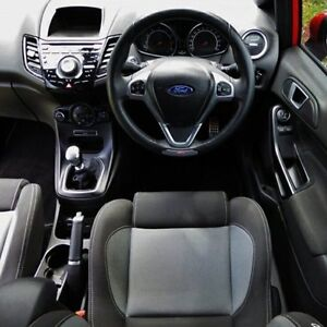 2013 Ford Fiesta Red/Black Manual Hatchback Hendon Charles Sturt Area Preview