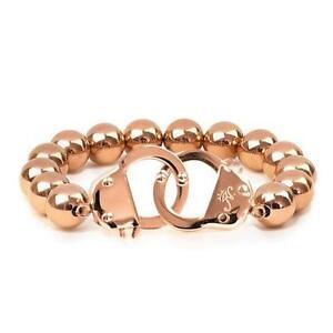 50% OFF All Jewellery - 18k Rose Gold | Beaded Cuff Bracelet