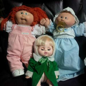 Vintage Cabbage Patch Dolls - EUC - make me an offer