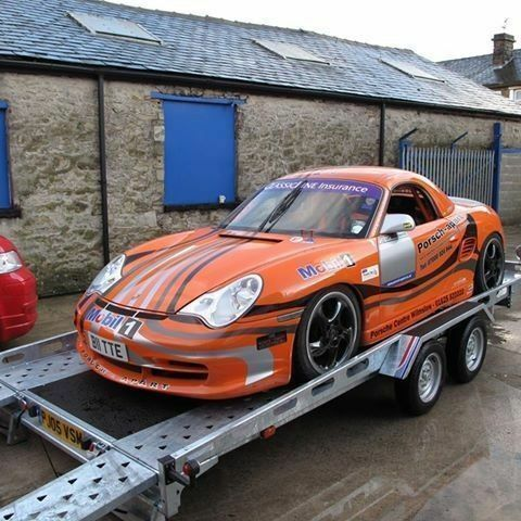 TRANSPORTER INDESPENSION CAR TRAILER FT Save RECOVERY STOCK - Show car trailer