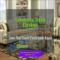 Steam Cleaning for Sofa Rugs Upholstery