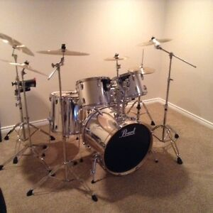 Vintage Pearl 5 Piece Kit