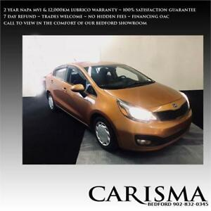 '12 Rio EX Auto~ Bluetooth,MVI & 12,000km Warranty