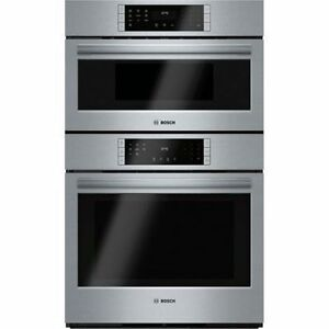 Bosch HBL8751UC Speed Combination Wall Oven, 30 in,4.6 cu.ft.,