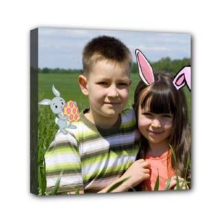 New! Easter Canvas Individually Designed With Your Photo