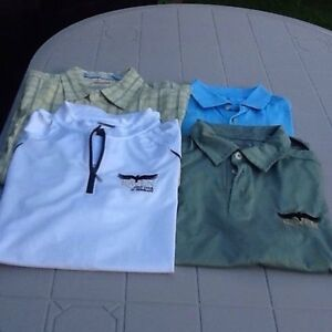 Polo Adidas et chemise Quick Silver