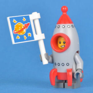 Lego Series 17 Minifigs Rocket Boy PastryChef also Complete Set