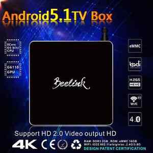 OCTOCORE beelink R68 4k player Android TV box