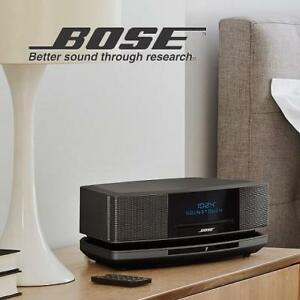 NEW BOSE WAVE SOUNDTOUCH SPEAKER 738031-7710 212556418 Music System IV Espresso Black Audio  Home Theatre Stereo Shel...