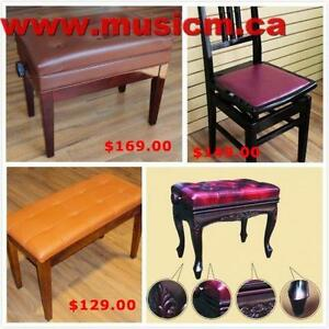 Piano Bench Sale www.musicm.ca