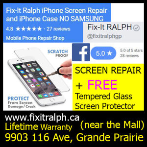 iPhone 7+ Plus Broken LCD Glass Screen Repair for $130