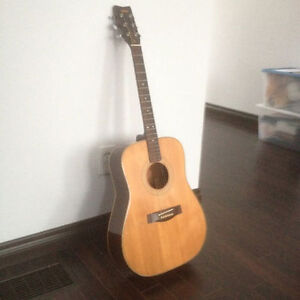 Vintage Yamaha guitar from 70's