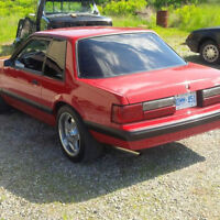 1988 mustang 5.0L 5 spd coupe
