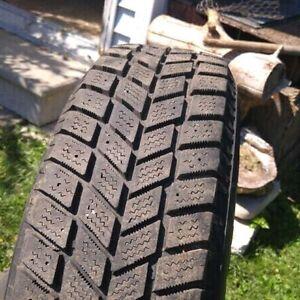 195 70 R14 Hankook IPike Winter Tires On Rims Cambridge Kitchener Area image 4