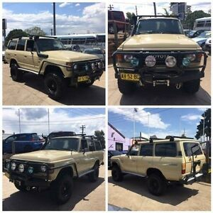 1982 Toyota Landcruiser (4x4) Beige 5 Speed Manual 4x4 Wagon North St Marys Penrith Area Preview