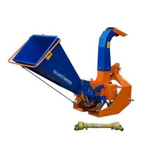 NEW tractor mounted Balfor chipper shredder with hydraulic feed